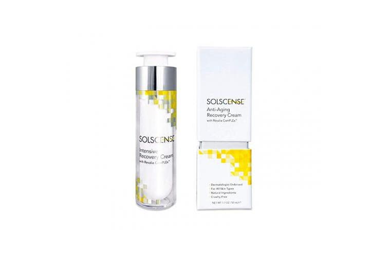 Solscense Recovery Cream - First to use PLE to Repair Sun Damage, Reduce Age Spots, Dark Circles, Wrinkles, and Fine Lines - Innovative Intensive Anti Ageing Moisturiser, 50ml
