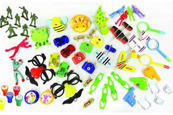 Charmed 100 Pc Party Favour Toy Assortment for party favour and Pinata stuffing