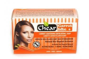 Carrot Lite+ Skin Lightening Whitening Brightening Exfoliating Soap 150g - with natural bio vegetal activator