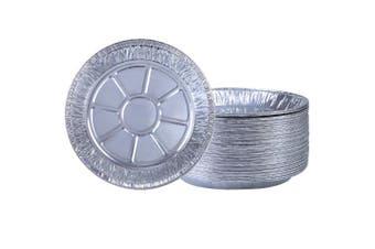 Aneco 40 Pieces 23cm Pie Pans Disposable Aluminium Foil Pie Plates for Baking, Cooking