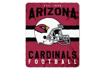 (Arizona Cardinals, One Size, Multicolor) - The Northwest Company NFL Mens Printed Fleece Throw