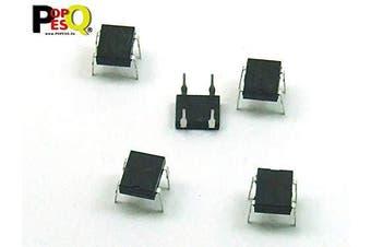 POPESQ® 5 pcs. x DB107 (Replacement for DB101 DB102 DB103 DB104 DB105 DB106) Rectifier Bridge 1000V 1A Bridge Rectifier #A2339