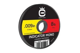 (.33cm  / 5.6kg, Yellow/Red) - Cortland Indicator Mono