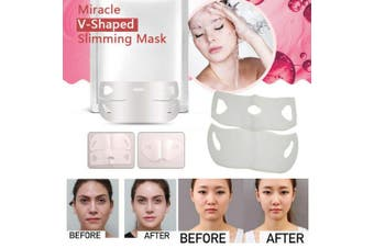 2019 V-Shape Face Chin Slimming Mask Miracle Slimmer Shaper (2Pcs)