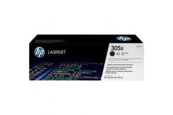 HP 305X, (CE410X) High Yield Black Original LaserJet Toner Cartridge