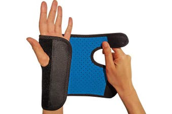 (Right) - RiptGear Wrist Brace for Women and Men – Adjustable Support with Removable Splint - Wrist Sprains, Carpal Tunnel Syndrome, Tendonitis - Reinforced Construction – Wrist Brace Right Hand (Right)