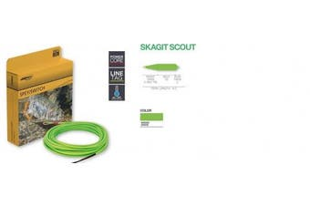 (300 Grains) - Airflo Fly Lines Skagit Scout, Wasabi Green