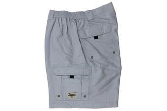 (38, Pearl Gray) - Bimini Bay Outfitters Men's Boca Grande Nylon Short