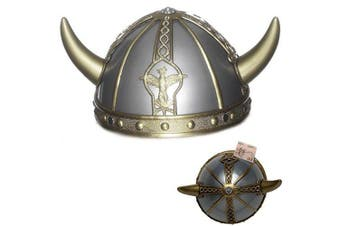 Boys Girls Childs Viking Saxon Celtic Warrior Fancy Dress Costume HELMET Hat