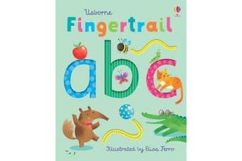Fingertrail ABC [Board book]