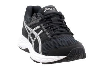 (9.5 UK, Black/Silver) - ASICS - Womens Gel-Contend 5 (D) Shoes
