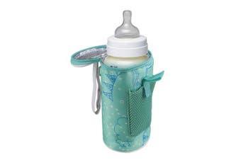 (USB Baby Bottle Warmer) - Topwon Baby Bottle Warmer Bag Portable USB Heating Breast Milk Warmer Bag Insulated Baby Bottle Tote Bag for Outside Walk, Shopping, Travelling