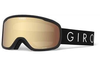 (Black Core Light, Amber Gold) - Giro Moxie Womens Snow Goggles