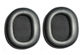 Gesongzhe PU Leather Replacement Earpads Ear Cushions for Sony Sony MDR-7506 Headphones (1 Pair) - Black