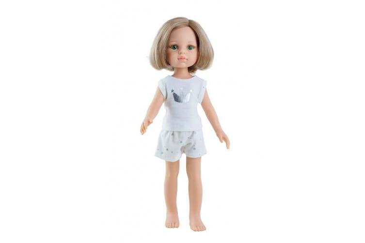 Paola Queen Doll Face 32 cm Pyjamas Friends, Multi-Colour (13202)