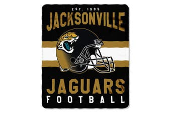 (Jacksonville Jaguars) - The Northwest Company Officially Licenced NFL Singular Fleece Throw Blanket, 130cm x 150cm