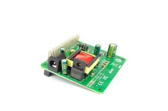 DSLRKIT 5V 12V PoE HAT Raspberry Pi 3B+ 3B Plus 8.9cm Hard Disc Drive HDD LED LCD 24Watt