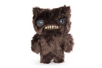 Funny Ugly Monster 23cm Medium Plush Stuffed Animal Munch Munch Brown Fur