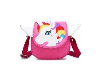 Aimeio Little Girls Crossbody Purse Small Cute Unicorn Satchel Handbag Messenger Bag