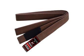 (A1, Brown) - Max5 Brazilian Jiu Jitsu Gi Belts