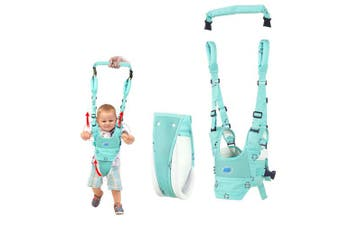 (wathet blue) - Baby Walker Toddler Walking Assistant by Autbye, Stand Up and Walking Learning Helper for Baby, 4 in 1 Functional Safety Walking Harness Walker for Baby 7-24 Months (Wathet Blue)