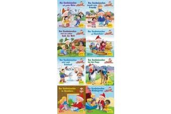 Pixi-Bundle 8er Serie. Das Sandmännchen unterwegs (8x1 Exemplar) [German]