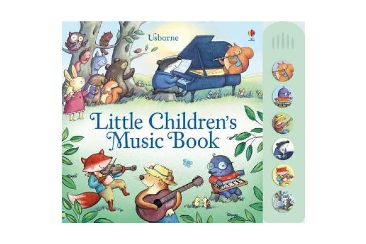 Little Children's Music Book (Musical Books) [Board book]