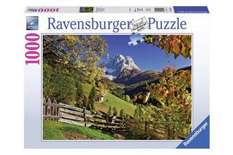 "Ravensburger 19423 0 ""Mountains in Autumn Puzzle (1000-Piece)"