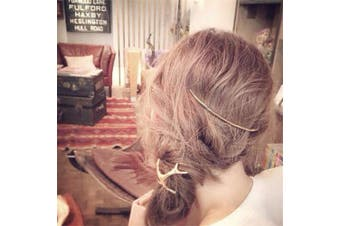 (Gold) - CanB Minimalist Hair Clips Vintage Hair Comb Hair Pins Hair Accessories for Women and Girls (Gold)