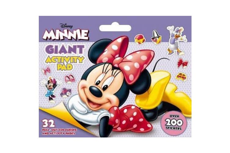 Disney Minnie Mouse: Giant Activity Pad (Disney Minnie Mouse)