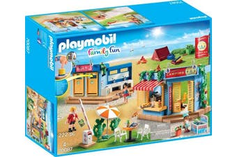 Playmobil Family Fun 70087 Large Campground