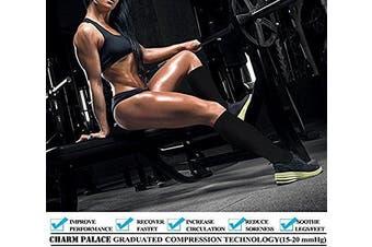 (7Pair-S/M, Beige) - Aisprts Compression Socks for Women & Men-for Medical, Nursing, Running & Fitness