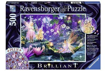 Ravensburger In the fairies forest Brilliant Puzzle (500-Piece)