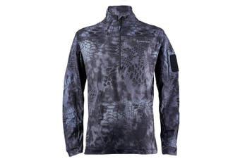 (XXX-Large, Typhon) - Kryptek Valhalla 2 LS Zip - Long Sleeve Camo Hunting Shirt (Valhalla Collection)