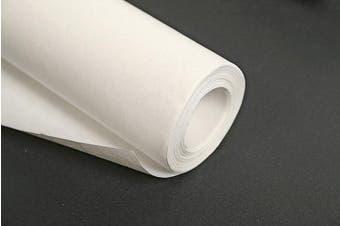 (25 x 1 m, 60 g, White) - Clairefontaine Kraft Paper Roll, 60 g, 25 x 1 m - White
