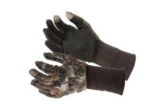 Allen Camo Mesh Hunting Gloves - Mossy Oak Beak-Up Country