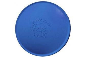 (19cm , Blue) - Jolly Pets Flexible, Floating Flyer Dog