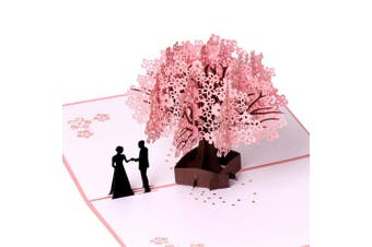 Birthday Card,Anniversary Card,Romantic 3D Pop Up Greeting Cards,Gift for Wife Girlfriend Husband Boyfriend