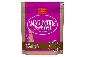 (Savory Lamb, 180ml) - Cloud Star Wag More Bark Less Original Soft & Chewy Dog Treats, Corn & Soy Free, Baked in USA