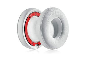 (White) - LS LOVINSTAR Replacement Ear Pads Earpads Cushion Cover for Beats by dr dre Studio 2.0 3.0 Wireless Wired Headset Headphone (White)