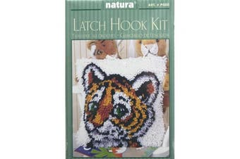 Caron Natura Latch-Hook Kit, Tiger Cub, 30cm X 30cm