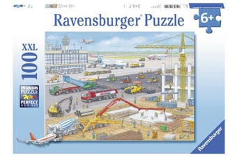 Ravensburger Puzzle 10624 Construction Site at the Airport