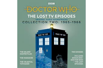 Doctor Who: The Lost TV Episodes Collection Two: 1st Doctor TV Soundtracks [Audio]