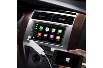 USB Carplay Dongle for Android Car Navigation - Mini Carplay Box for IOS Using Carplay in Android Car Multimedia Player Connect by USB Support Touch and Voice Control