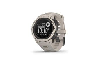 (Tundra) - Garmin Instinct, Rugged Outdoor Watch with GPS, Features GLONASS and Galileo, Heart Rate Monitoring and 3-axis Compass, Tundra