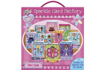 Galt Toys Girl Club Sparkle Card Factory