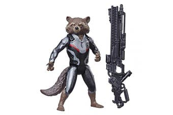 Endgame Titan Hero Series Rocket Raccoon 30cm -Scale Super Hero Action Figure with Titan Hero Power FX Port