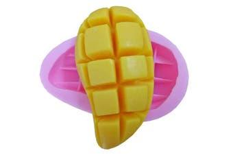 (Mango) - GreatMold 3D Mango Design Soap Mould Food Grade Silicone Mould for Soap Cake Making Panna Cotta Moulds