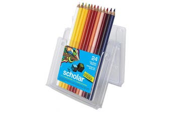 Prismacolor Scholar Pencil Set, Assorted Colours, Set of 24