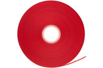 (Red) - ATRibbons 100 Yards 1cm Wide Solid Double Face Satin Ribbon for DIY Hair Accessories Scrapbooking Gift Wrapping, Bow Headbands and Crafting,100 Yards/Spool(Red)